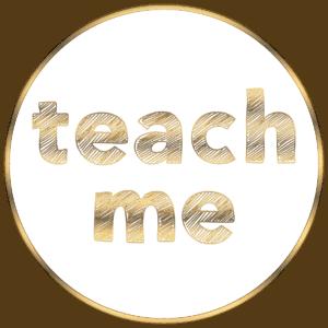 Buttons White Teach Me